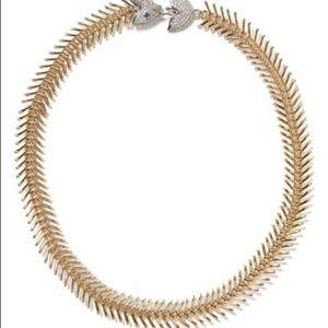 Banana Republic Fishbone Necklace and bracelet